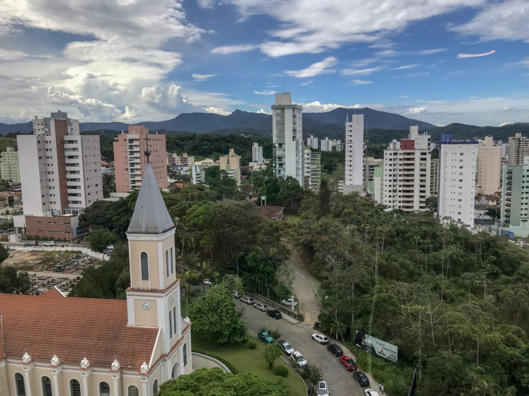 Vista de Brusque. Crédito André Groh