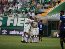 Verdão venceu o Tubarão em amistoso de pré-temporada | Foto: Sirli Freitas/Chapecoense
