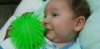Gustavo Jappe, menino de Brusque portador de Amiotrofia Muscular Espinhal (AME)