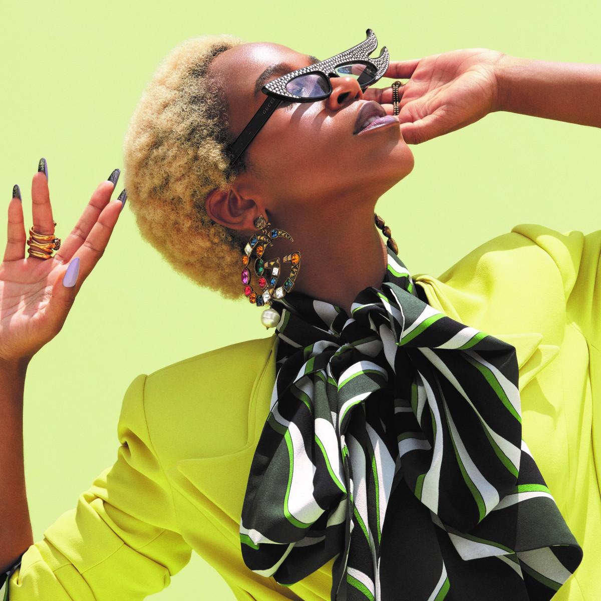 ac4c6a495 Karol Conka na capa da Glamour de Março