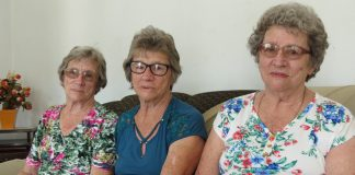 trigêmeas de brusque completam 80 anos neste domingo