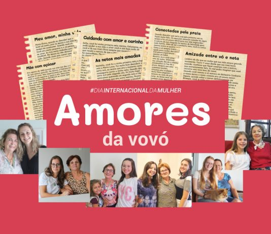 Amores da Vovó: conheça histórias de carinho e admiração entre avós e netas