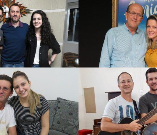 Especial Dia dos Pais: conheça a história de pais e filhos que caminham na fé