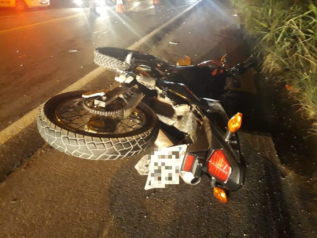 Motociclista fica ferido em acidente na rodovia Ivo Silveira, em Gaspar - O Munícipio