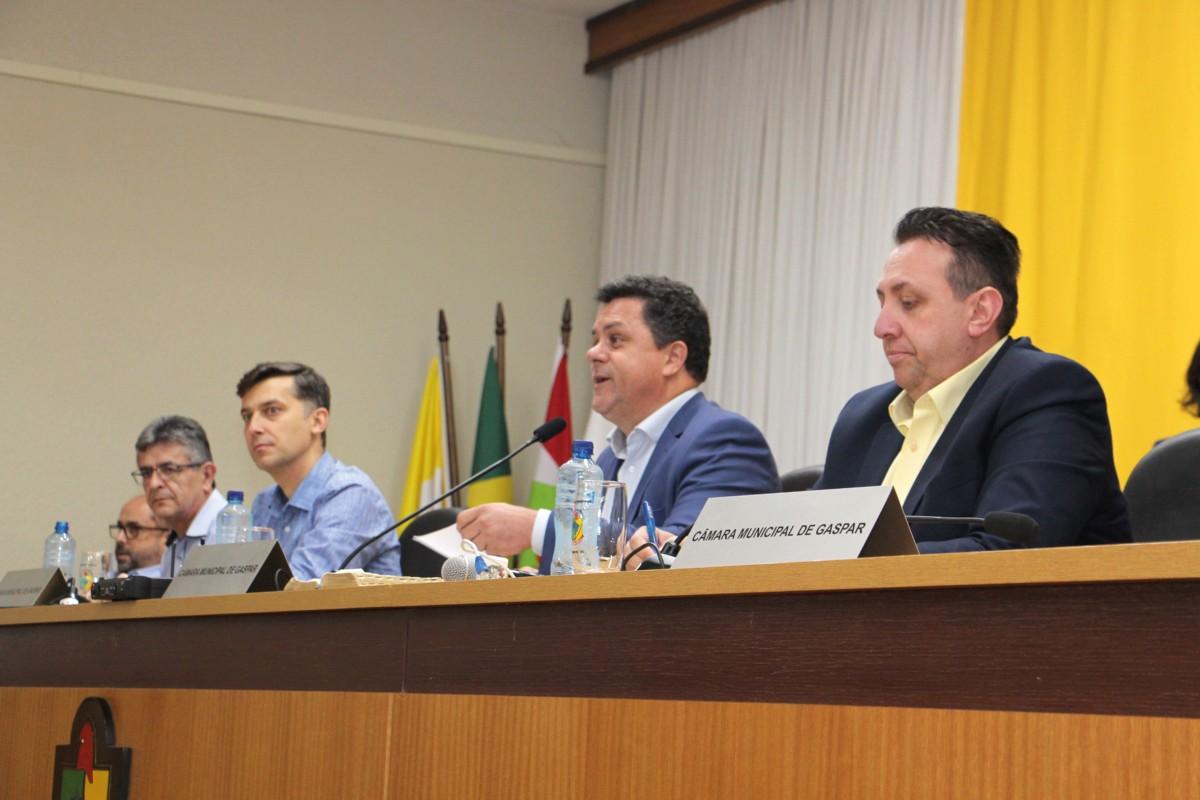 Contorno viário de Gaspar é tema de reunião na Assembleia Legislativa - O Munícipio
