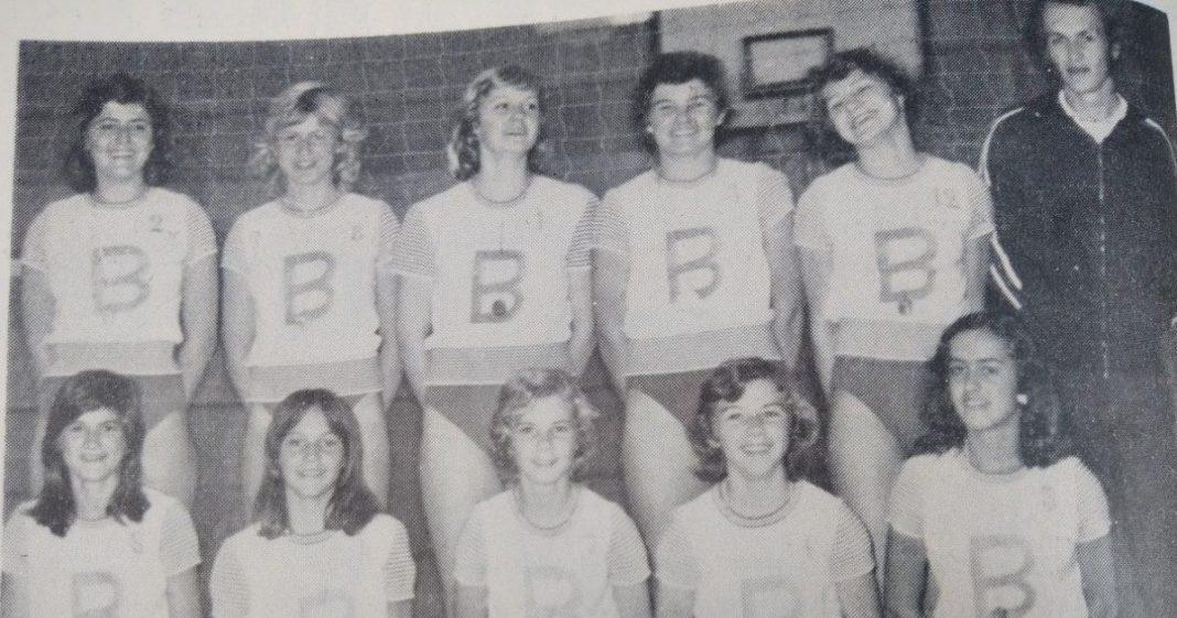 Time volei feminino de Brusque em 1976
