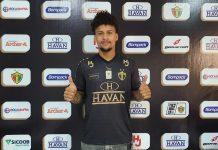 Luan Santos Brusque jogador atacante reforço