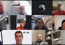 A presidente da Associação Empresarial de Brusque, Rita Cassia Conti, participou de uma reunião virtual, promovida pela Facisc e com a presença de deputados e senadores que integram o Fórum Parlamentar Catarinense.