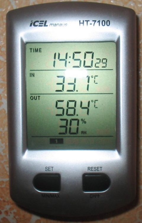 Calor em Brusque