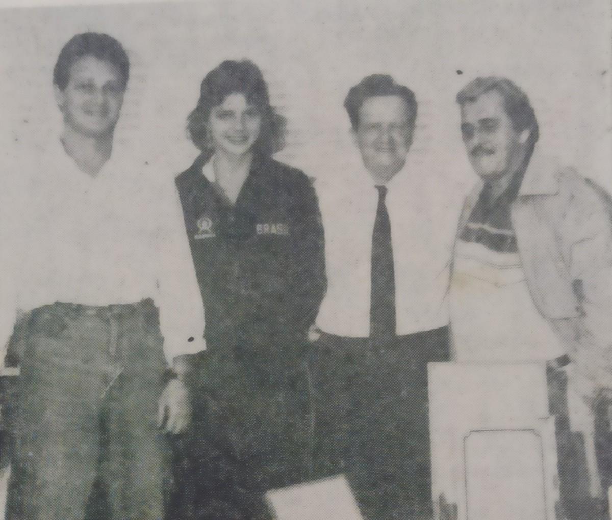 Simoninha Brusque Vôlei 1987