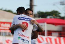 Brusque Vila Nova Série C grupo C líder vence placar resultado futebol Thiago Alagoano