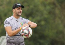 Brusque Figueirense Catarinense 2021 Jerson Testoni
