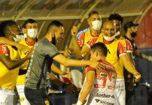 Brusque Hercílio Luz Catarinense 2021 placar resultado jogo