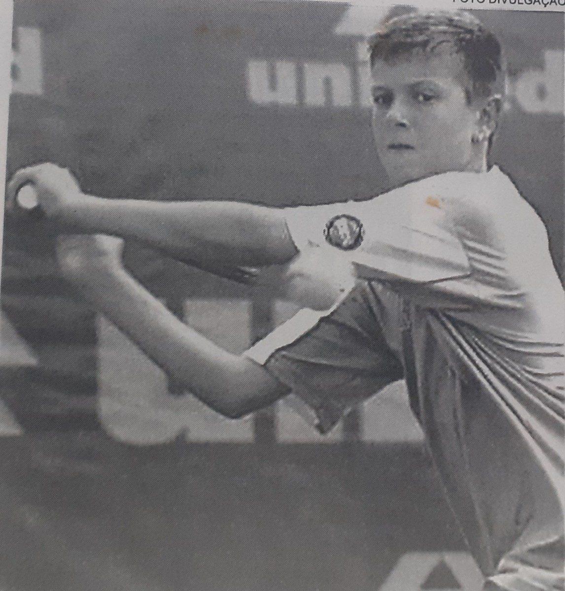 André Baran tênis campeonato tenista brusque