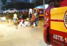 motociclistas feridos