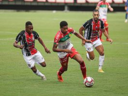 Joinville Brusque Catarinense 2021 rodada resultado empate 0 a 0