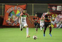Vitória Brusque Série B Barradão fora de casa jogo rodada placar resultado