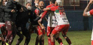 Brusque Copa Santa Catarina Copa SC participação desistiu desistência