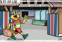 Brusque Série B fora de casa Augusto Bauer