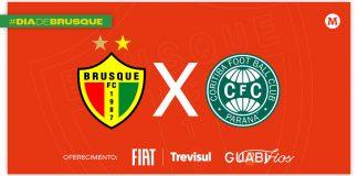 Brusque x Coritiba tempo real lance a lance minuto a minuto jogo Série B