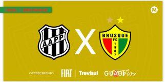 Ponte Preta x Brusque tempo real lance a lance minuto a minuto jogo Série B