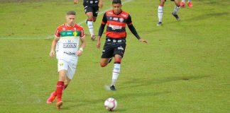 Brusque Vitória Série B jogo placar resultado quem ganhou gols
