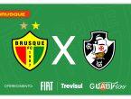 Brusque x Vasco Série B tempo real lance a lance minuto a minuto livetext