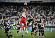 Botafogo Brusque Série B goleada 3 0 Rafael Navarro Jhon Cley Marco Antônio rodada jogo do brusque