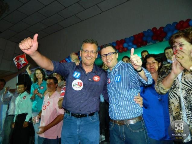 Paulo Roberto Eccel e Evandro de Farias buscam a reeleição