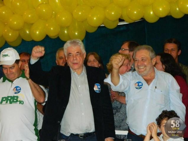 Ciro Roza é candidato como prefeito e dr. Jonas como vice