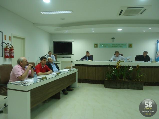 A próxima sessão da Câmara de Vereadores de Guabiruba ocorre na terça-feira, 21 de agosto, às 19 horas