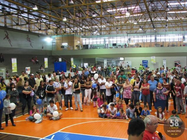 A 1ª edição reuniu cerca de 2 mil pessoas no complexo esportivo do SESI e em 2012 a intenção é superar o número de participantes