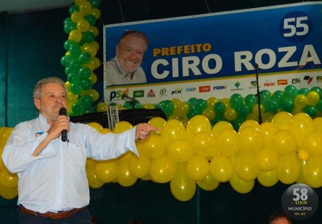 O acordão do desembargador relator, Elcio Pinheiro de Castro, condenou todos os seis réus do processo: o ex-prefeito Ciro Marcial Roza (foto), e os cinco integrantes da comissão de licitação na época