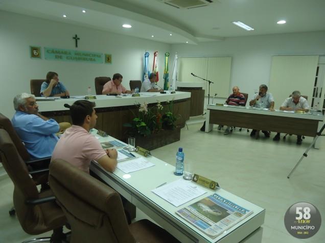 A próxima sessão da Câmara de Guabiruba acontece na terça-feira, 25 de setembro