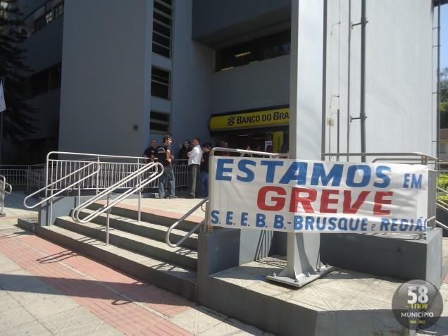 Em 2011, os bancos também entraram em greve