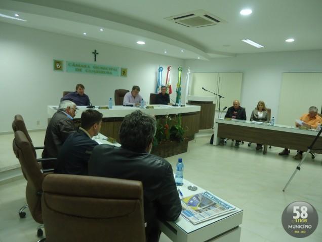 A próxima sessão da Câmara de Vereadores de Guabiruba acontece na terça-feira, 2 de outubro, às 19 horas