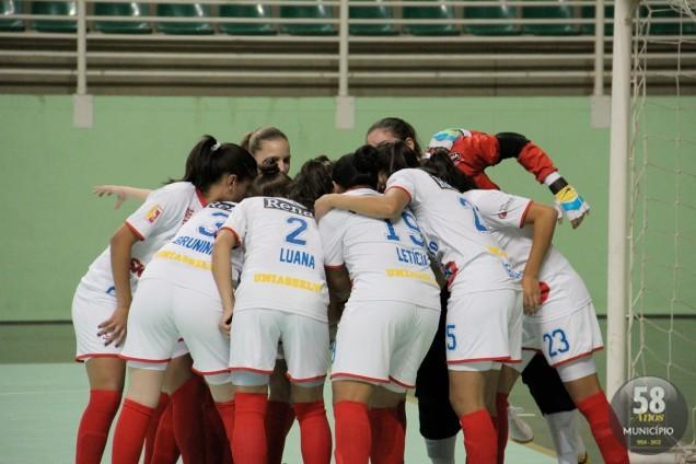 Equipe perdeu nas semifinais para Chapecó, mas garantiu o Bronze contra o Concórdia