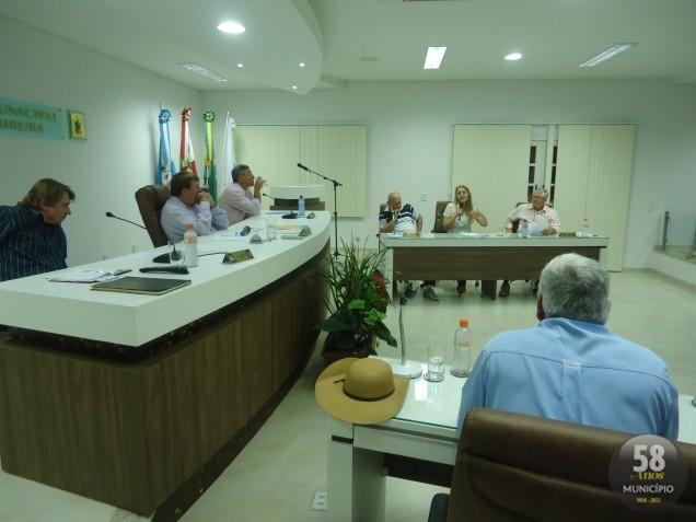 A próxima sessão da Câmara de Guabiruba acontece na terça-feira, 9 de outubro