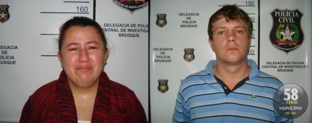 Daiane Machado e Edivaldo de Souza, ambos com 28 anos, foram condenados por tráfico de drogas