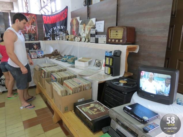 Visitantes poderão relembrar bons momentos e comprar objetos antigos