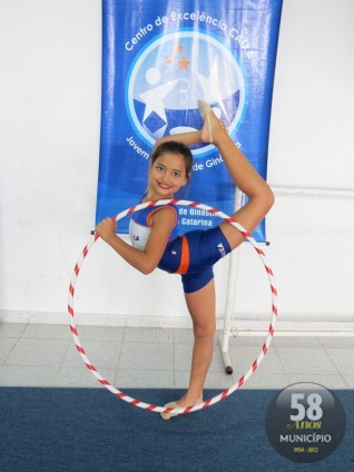 Beatriz Nunes Pereira, 9 anos, foi medalha de ouro na modalidade individual com arco