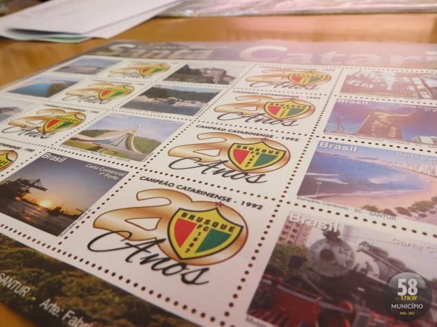 Será lançado um selo comemorativo em homenagem à conquista