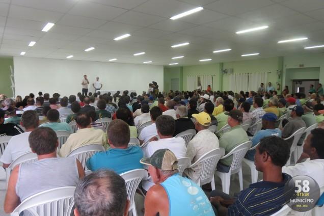 Evento realizado no Salão Cristo Reis marca o retorno das atividades dos servidores públicos municipais de Guabiruba
