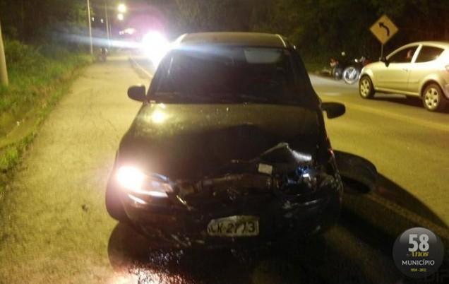 Motociclista morre depois de forte colisão na Rodovia Antônio Heil
