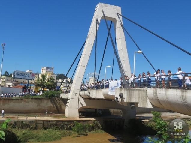 Escolas e entidades do município participaram da ação