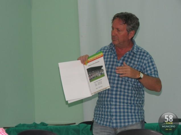 Danilo Rezini apresentou o planejamento para o clube