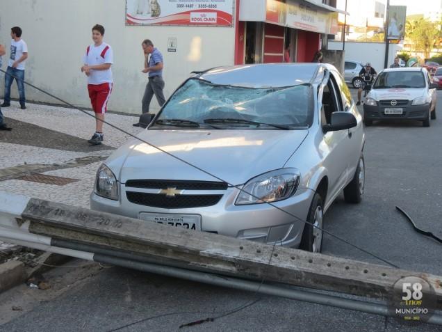 Trânsito precisou ser desviado pela Guarda Municipal de Trânsito de Brusque