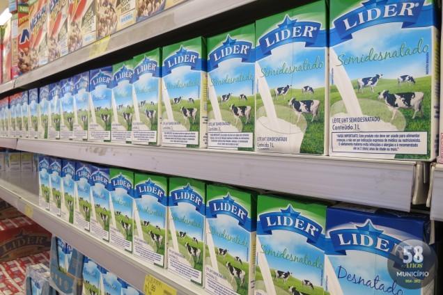 As marcas Líder, Bom Gosto e Italac são comercializadas em Brusque, mas supermercados garantem que produtos adulterados não estão à venda