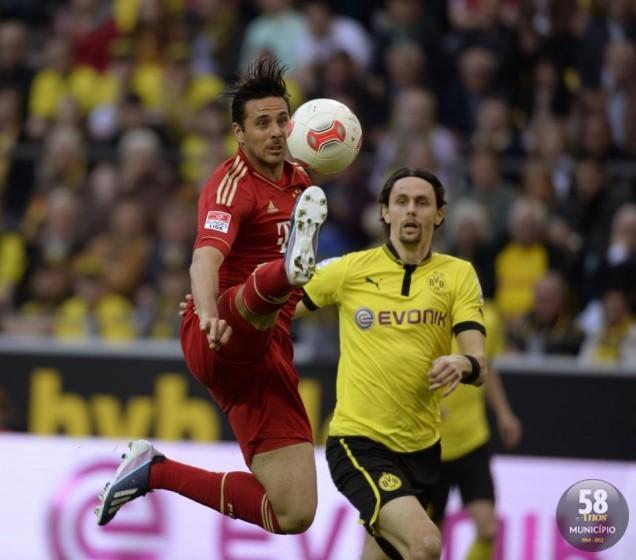 Jogo entre Bayern x Borussia começa às 15h30, no dia 25 de maio