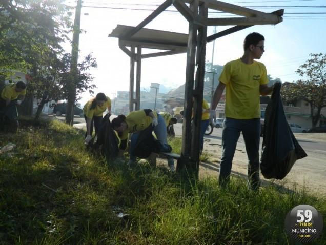 Ação aconteceu em 2012 e já faz parte do calendário de eventos do Mês do Meio Ambiente